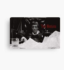 Tony Montana Scarface Canvas Print