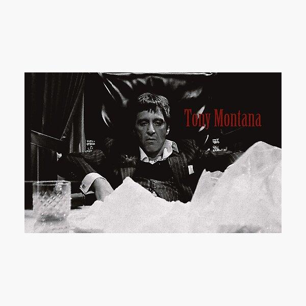 Tony Montana Scarface Impression photo