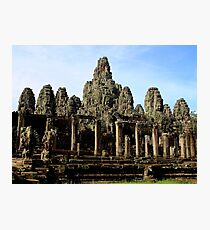 The Bayon Temple - Angkor, Cambodia.  Photographic Print