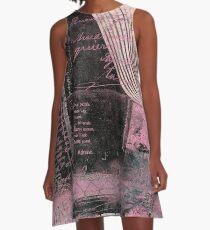 Pinkydoor fabric of Hyndussidart A-Line Dress