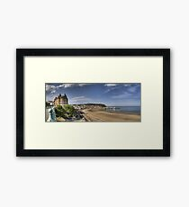 Scarborough Panorama Framed Print