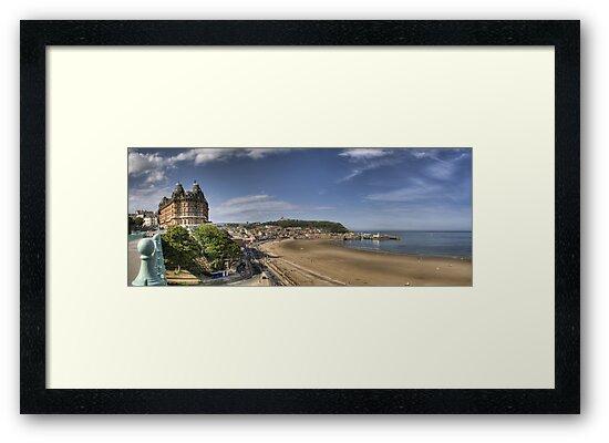 Scarborough Panorama by Chris Tait