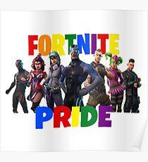 Fortnite Battle Royale - Pride 2018 Parody Poster