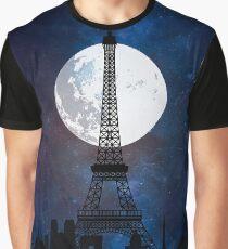 Paris vintage poster travel Graphic T-Shirt