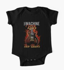 This Machine Kills The Blues One Piece - Short Sleeve
