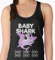Baby Shark T-shirt Doo Doo Doo - Funny Tee For Kids Women's Tank Top