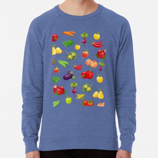 Fruit and vegetable seamless pattern Lightweight Sweatshirt