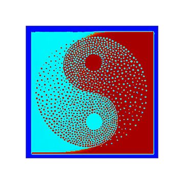 Ying-Yang symbol, Meaning every action has a opposite reaction , It applies to ones life for ,as the force of nature,and moral desitions   by 2jDUBCrastions1