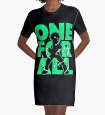 One for all Deku Graphic T-Shirt Dress
