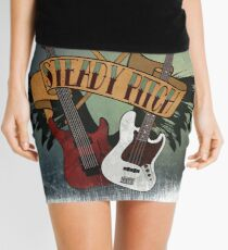 The Music Pitch... Rock'n'Roll and let your guitar, bass and drums rock! (slightly grunge version) Mini Skirt
