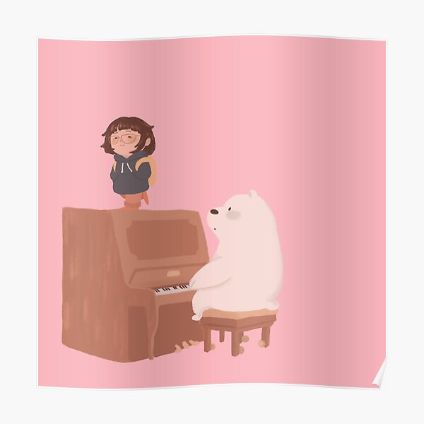 Ice Bear and Chloe Poster