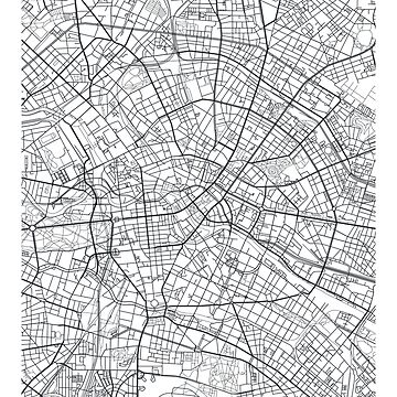 Vector poster city map Berlin by maximgertsen