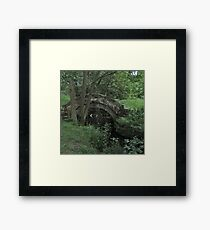 Packhorse Bridge Framed Print