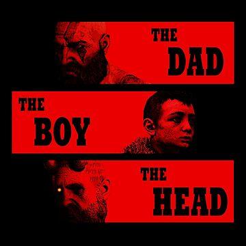 Dad, Boy and Head by 3cod3