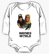 Wayne's World Long Sleeve Baby One-Piece