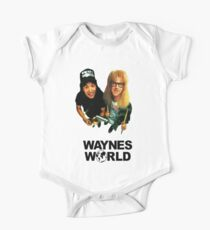 Waynes Welt Kurzärmeliger Einteiler