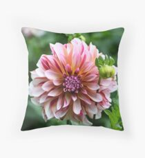 Halifax Dahlia Throw Pillow