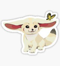 Little Furry Fennec Fox The Pet Sticker