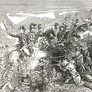 British Army attack on the Wexford rebels, 1798 by artfromthepast