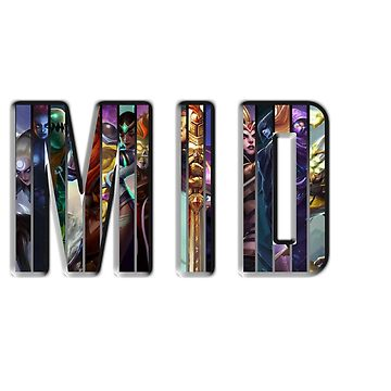 MID League Of Legends by backdoorstore