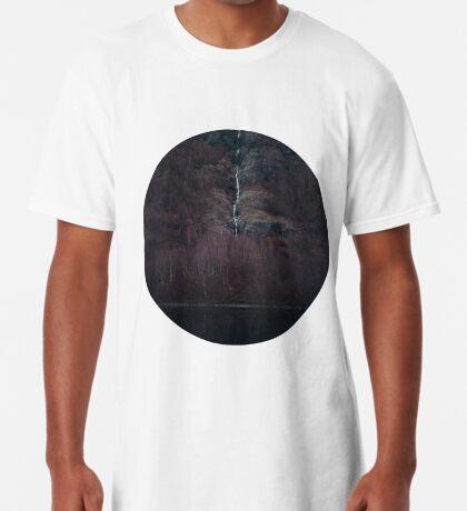 Purpurroter Wald Longshirt