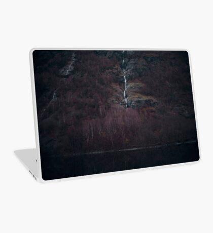 Purpurroter Wald Laptop Folie