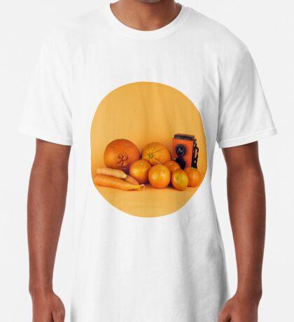Stillleben der orange Karotten Longshirt