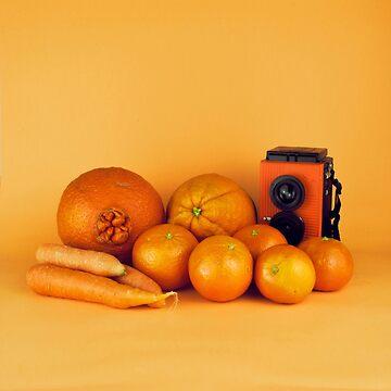 Orange carrots still life by josemanuelerre