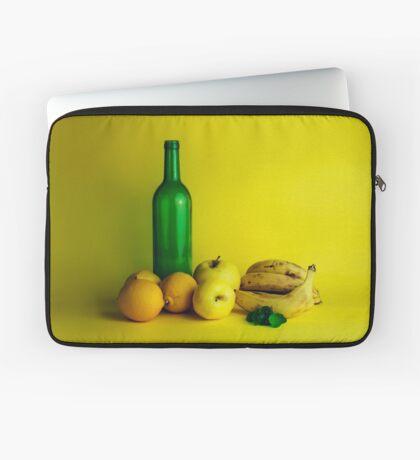 Zitronen-Limonenstillleben Laptoptasche
