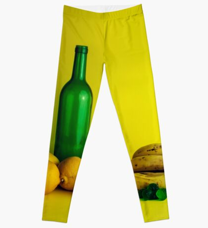 Zitronen-Limonenstillleben Leggings
