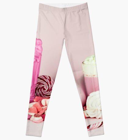 Süßes rosa Schicksalleben noch Leggings