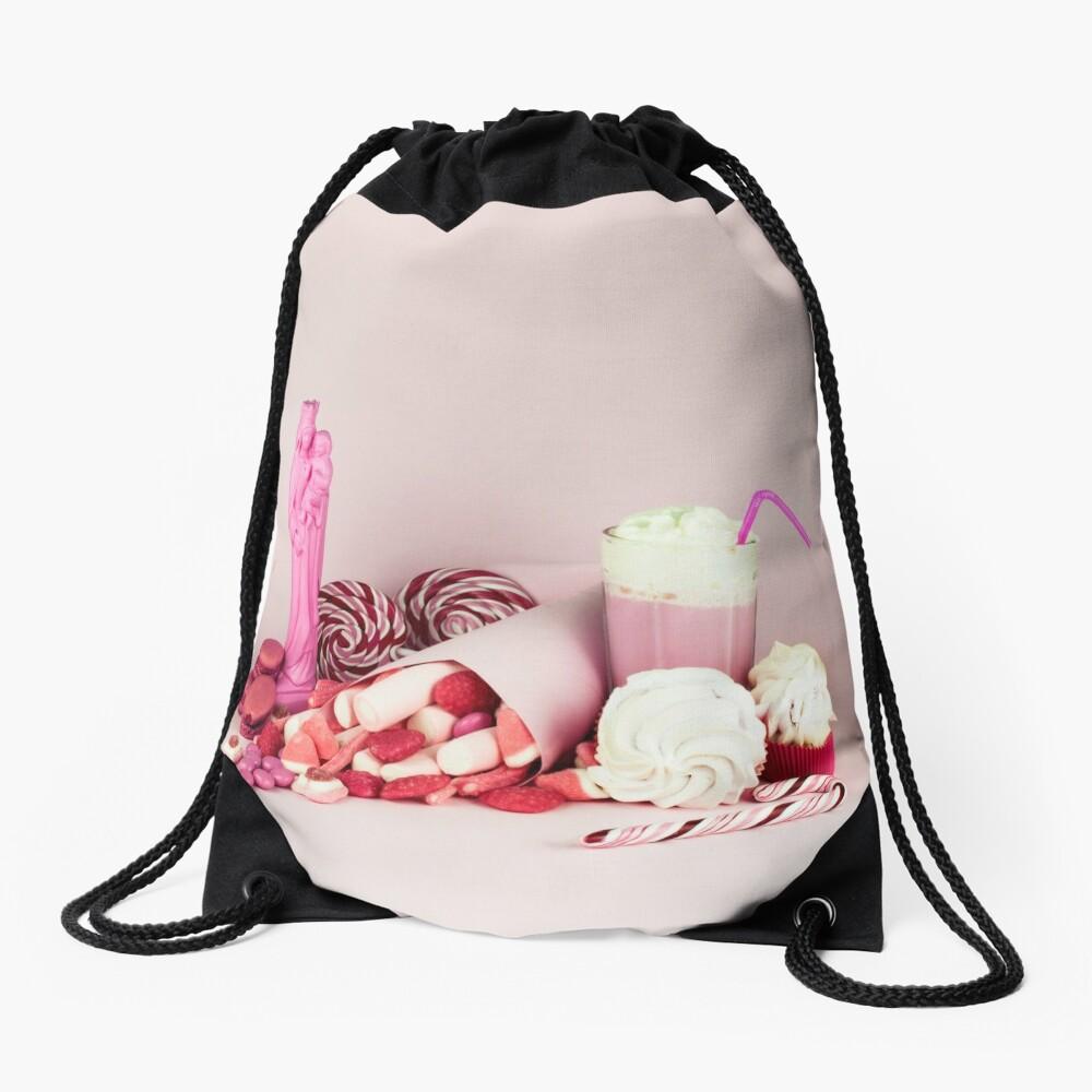 Süßes rosa Schicksalleben noch Turnbeutel