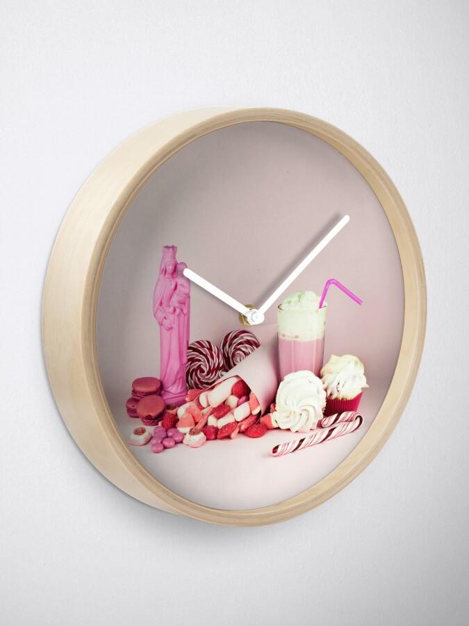 Alternative Ansicht von Süßes rosa Schicksalleben noch Uhr