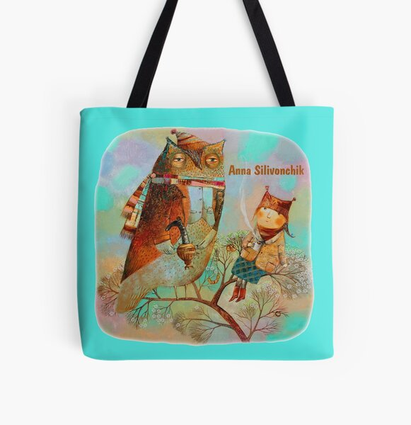 Spring Heat All Over Print Tote Bag