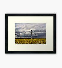 Wind Power Framed Print