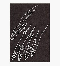 One line hand drawing Photographic Print
