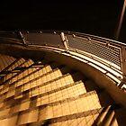 Stairway To The Walkbridge by Joe Powell