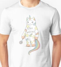 Stay Weird! With Love From Unicorn Cat Unisex T-Shirt