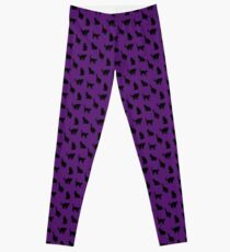 Witches Black Cats Leggings