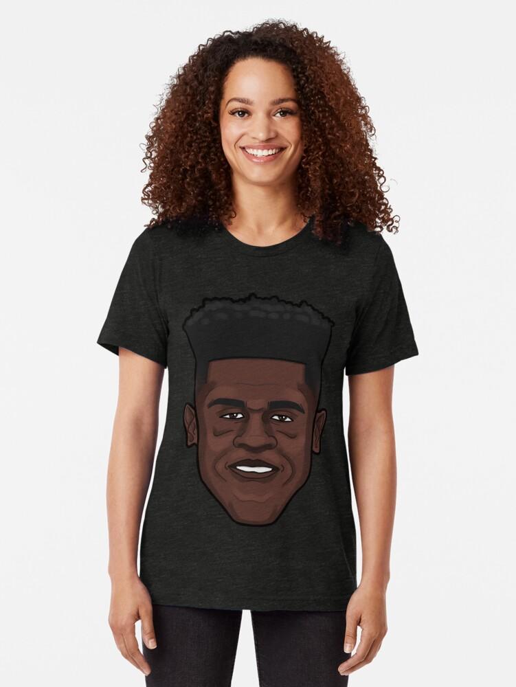 Alternate view of Mo Bamba Portrait Tri-blend T-Shirt