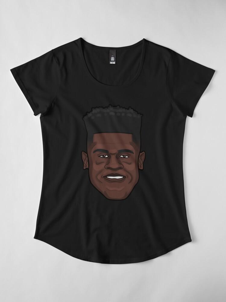 Alternate view of Mo Bamba Portrait Premium Scoop T-Shirt