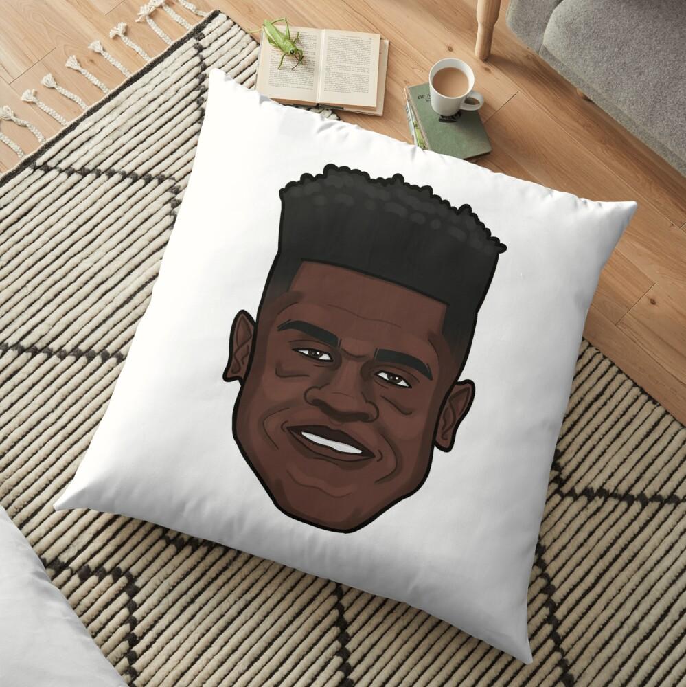 Mo Bamba Portrait Floor Pillow