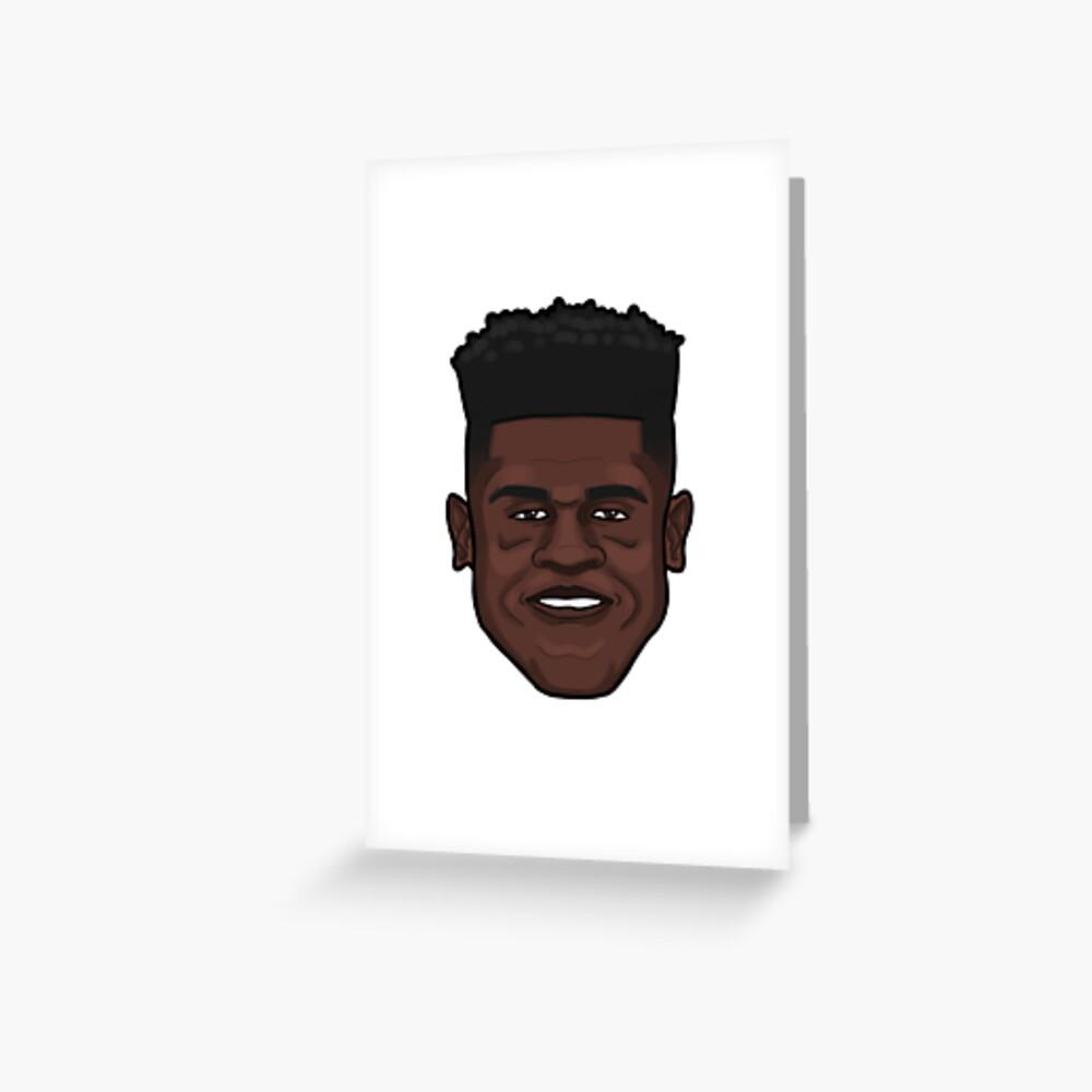 Mo Bamba Portrait Greeting Card
