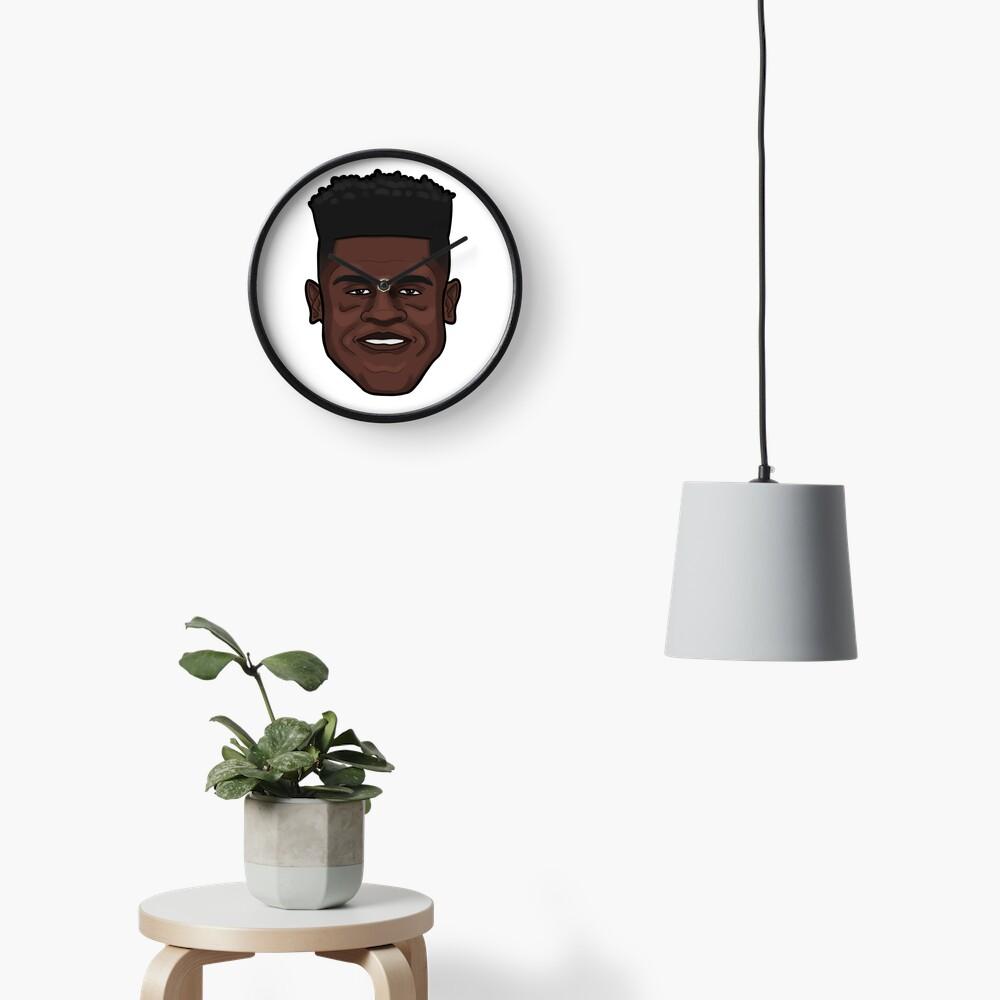 Mo Bamba Portrait Clock