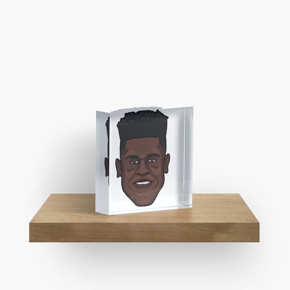 Mo Bamba Portrait Acrylic Block