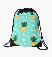 Pineapples Drawstring Bag