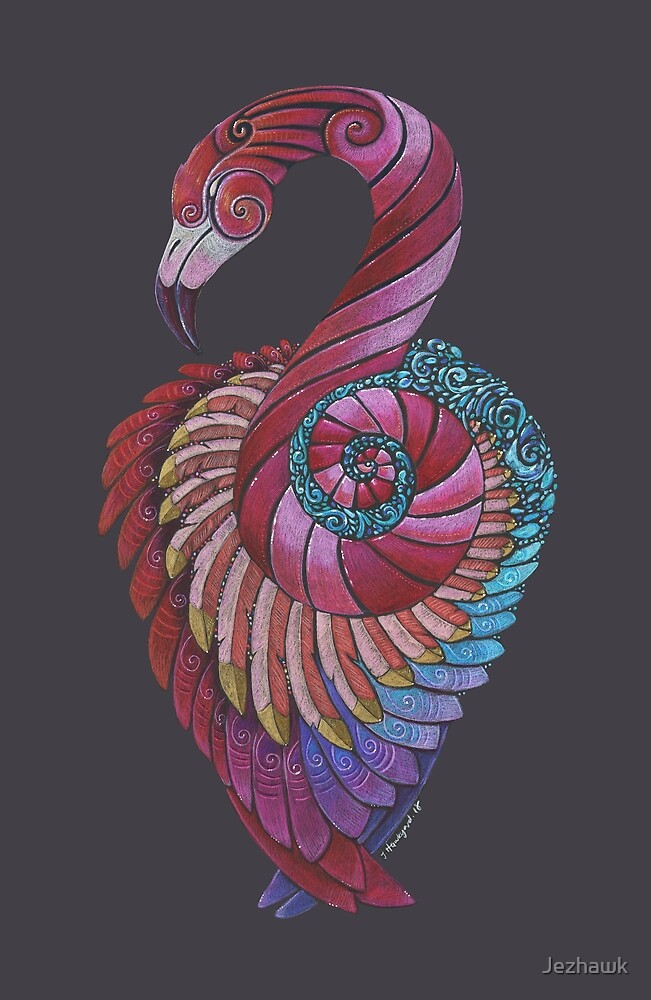 Flamingo Totem by Jezhawk