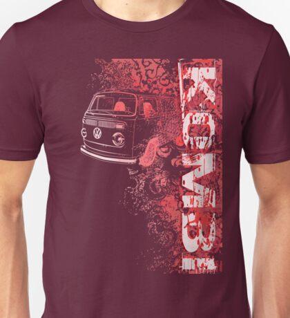Volkswagen Kombi Tee shirt - Grunge Red T-Shirt