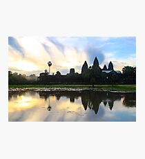 Sunrise on Angkor Wat - Angkor, Cambodia. Photographic Print