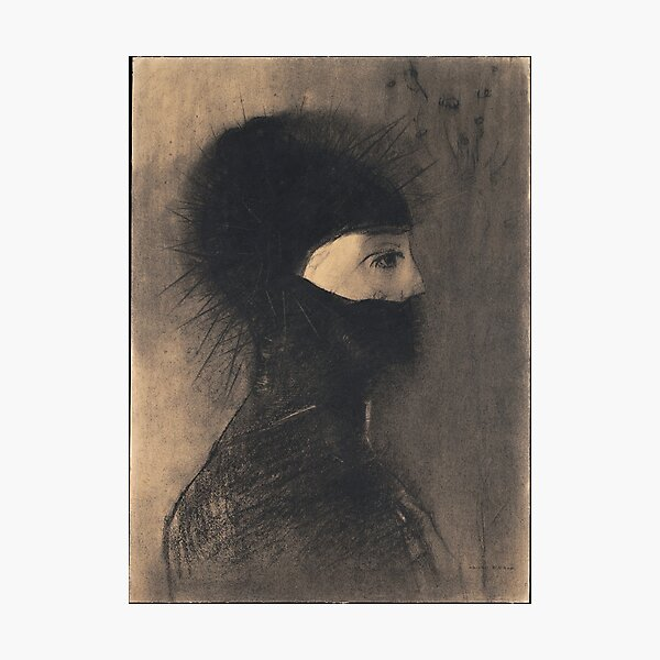 HD Armor,  by Odilon Redon (1891) High Definition Photographic Print